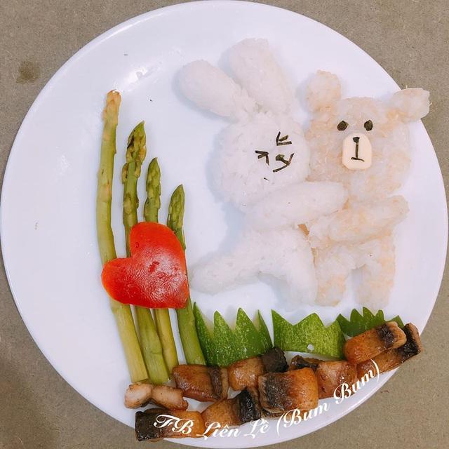 Ngỡ ngàng những món ăn đẹp ngộ nghĩnh mẹ làm cho con - Ảnh 1.