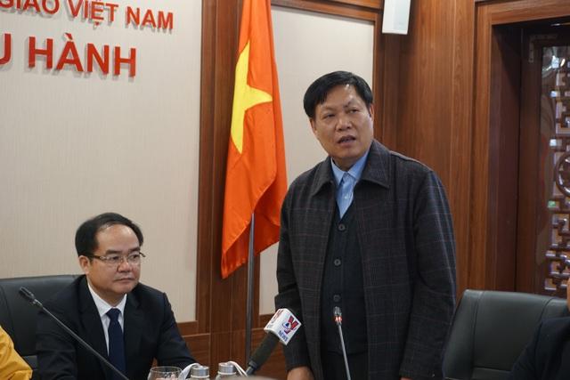 Giáo hội Phật giáo Việt Nam chỉ đạo tạm dừng mọi hoạt động lễ hội đông người tại Vĩnh Phúc để phòng, chống dịch nCoV - Ảnh 3.