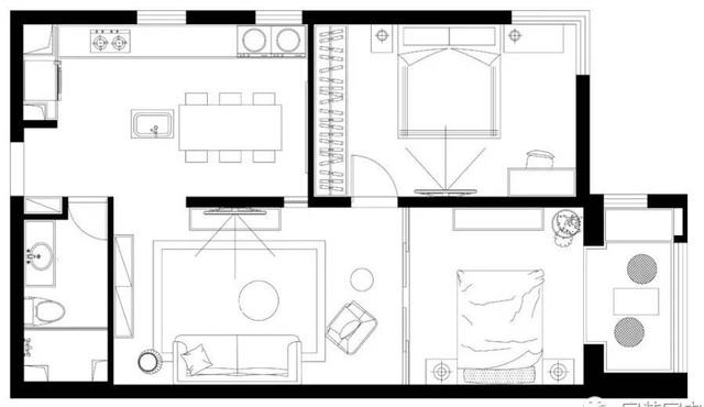 Gia đình trẻ cải tạo căn ký túc xá cũ rộng 80m² thành không gian sống nhiều ánh sáng - Ảnh 3.