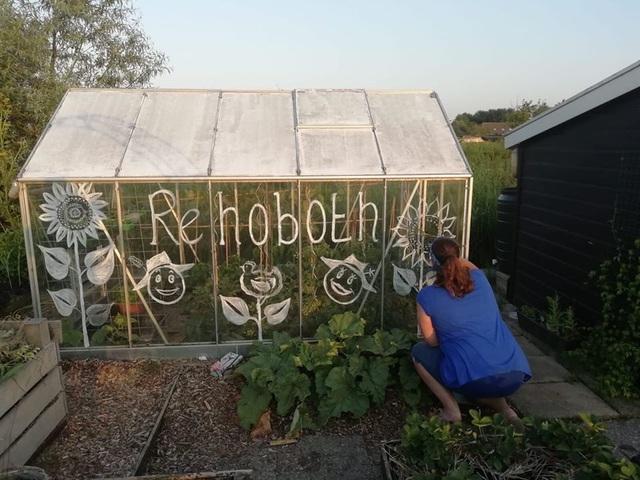 Khu vườn trồng các loại rau và hoa đẹp như mơ của cặp vợ chồng trẻ yêu thiên nhiên - Ảnh 17.