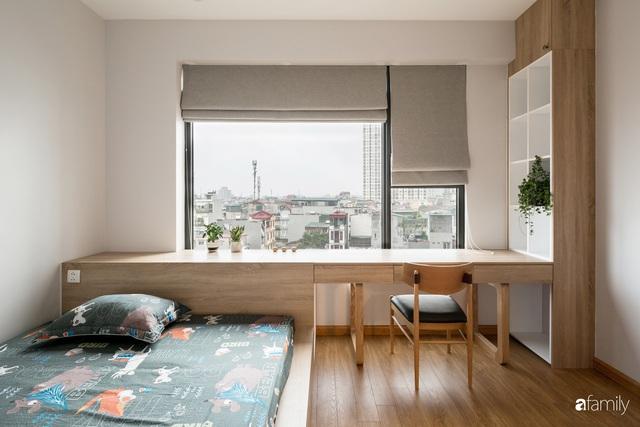 Căn hộ tối giản hút hồn từng mét vuông cho gia đình 6 người ở Minh Khai, Hà Nội - Ảnh 21.