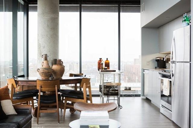 Ngây ngất với nét mộc mạc hiếm hoi bên trong căn phòng bếp gia đình hiện đại - Ảnh 4.