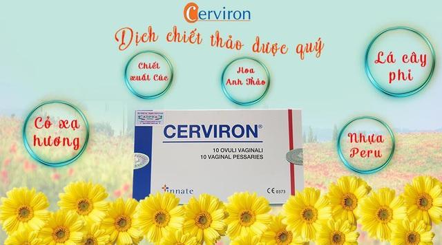 Cerviron - Liệu pháp mới trong điều trị viêm phụ khoa và làm hồng vùng kín - Ảnh 4.