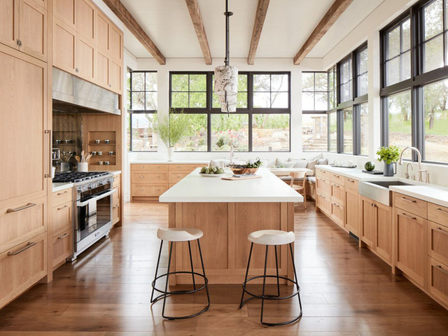 Ngây ngất với nét mộc mạc hiếm hoi bên trong căn phòng bếp gia đình hiện đại - Ảnh 6.