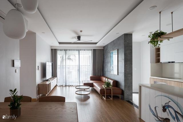 Căn hộ tối giản hút hồn từng mét vuông cho gia đình 6 người ở Minh Khai, Hà Nội - Ảnh 6.
