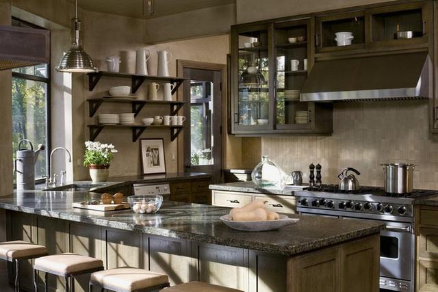Ngây ngất với nét mộc mạc hiếm hoi bên trong căn phòng bếp gia đình hiện đại - Ảnh 8.