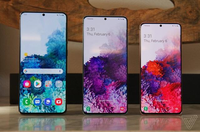 Samsung ra mắt bộ ba Galaxy S20 - camera zoom 100X, quay video 8K - Ảnh 1.