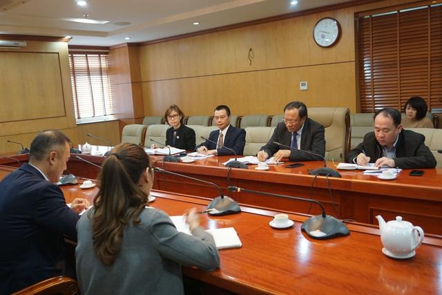 Đại sứ quán Hàn Quốc thăm và tìm hiểu công tác dân số của Việt Nam - Ảnh 1.