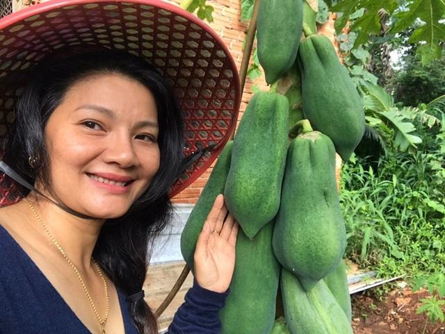 Kiều Trinh thu hoạch mỏi tay sau một năm làm vườn ở Bình Phước - Ảnh 10.