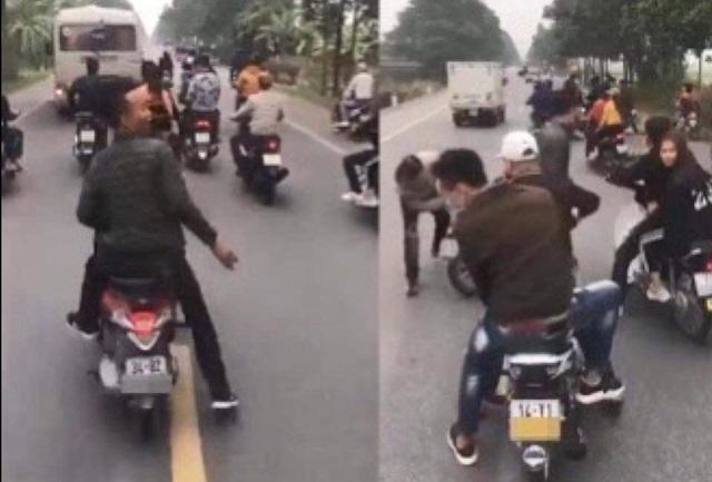 Hé lộ danh tính nhóm thanh niên chặn đầu xe ô tô chở tân binh nhập ngũ ở Hải Dương  - Ảnh 4.