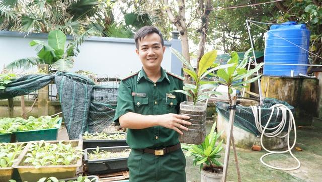 Gieo mầm xanh ở Trường Sa - Ảnh 2.