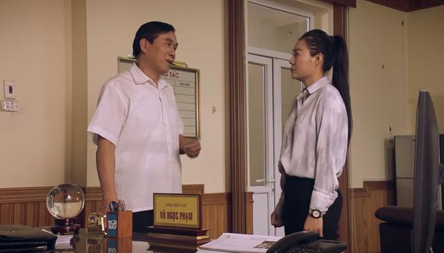 Sinh tử tập 64: Tổng biên tập báo Việt Thanh từ chức, Vũ đắc ý vì Ngân bị khởi tố? - Ảnh 1.
