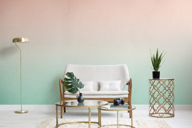 Nội thất màu ombre sẽ là xu hướng trong thiết kế nhà năm 2020 - Ảnh 2.