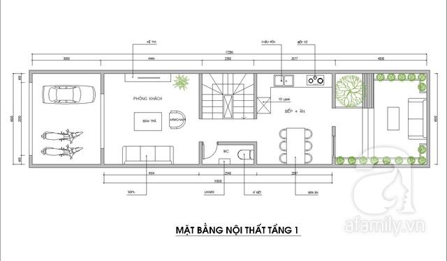 Ấn tượng với ngôi nhà 3 tầng có diện tích 70m² được kiến trúc sư tư vấn thiết kế với chi phí 117 triệu đồng - Ảnh 2.