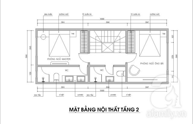 Ấn tượng với ngôi nhà 3 tầng có diện tích 70m² được kiến trúc sư tư vấn thiết kế với chi phí 117 triệu đồng - Ảnh 3.