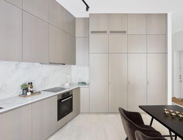Căn hộ 55m² với thiết kế cực sang chảnh với sắc màu trung tính không bao giờ lỗi mốt - Ảnh 6.