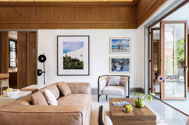 Ngôi nhà có kiến trúc theo lối truyền thống được bao quanh bởi khu vườn rộng 1200m² - Ảnh 8.