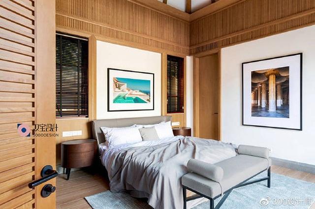 Ngôi nhà có kiến trúc theo lối truyền thống được bao quanh bởi khu vườn rộng 1200m² - Ảnh 12.