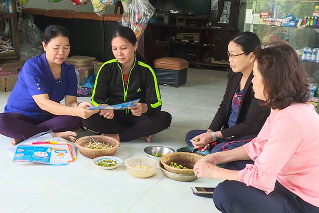 Cam Ranh phát huy vai trò cộng tác viên dân số - Ảnh 1.