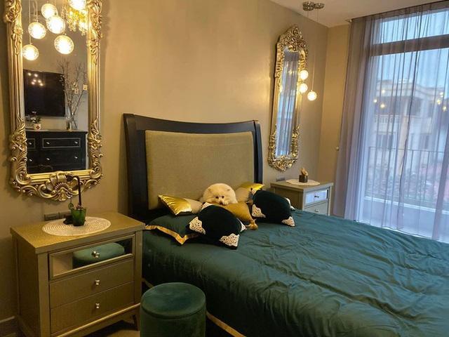 MC Minh Hà giàu cỡ nào, cứ nhìn phòng ngủ là biết - Ảnh 9.