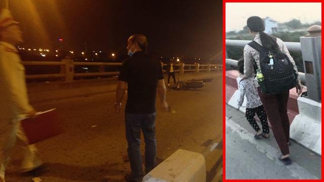 Danh tính gây bất ngờ của người mẹ tử nạn khi dắt con gái đi trên cầu Thanh Trì - Ảnh 2.