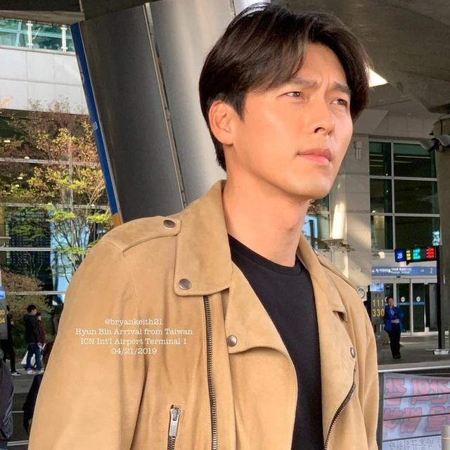 Hyun Bin ngoài đời thích diện vest như quý ông, vuốt tóc lãng tử - Ảnh 9.