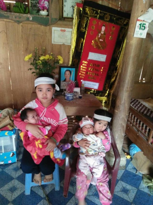 Mẹ đột ngột qua đời để lại 4 đứa trẻ khóc rạc cổ họng vì khát sữa và nhớ mẹ - Ảnh 2.