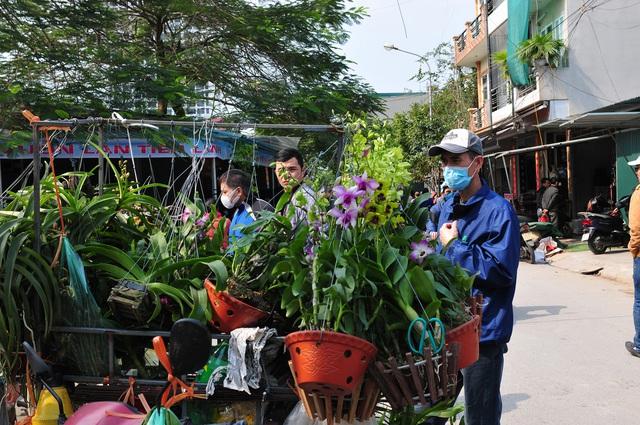 Độc đáo phiên chợ hoa, cây cảnh năm ngày họp một lần tại Hà Nội - Ảnh 10.