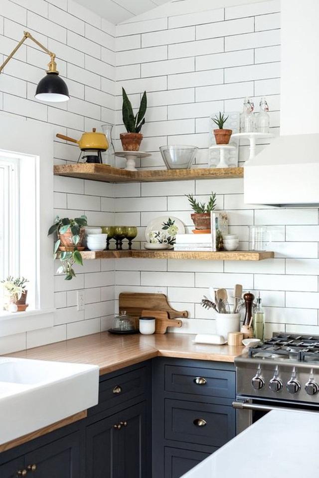 9 ý tưởng thiết kế kệ lưu trữ siêu xinh cho nhà bếp - Ảnh 3.