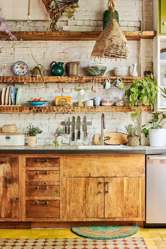 9 ý tưởng thiết kế kệ lưu trữ siêu xinh cho nhà bếp - Ảnh 6.