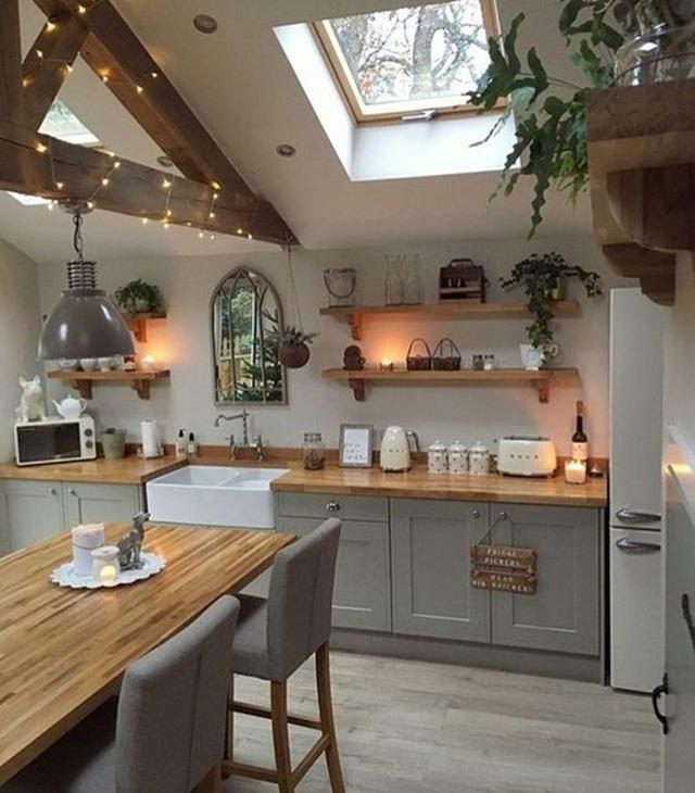 9 ý tưởng thiết kế kệ lưu trữ siêu xinh cho nhà bếp - Ảnh 8.