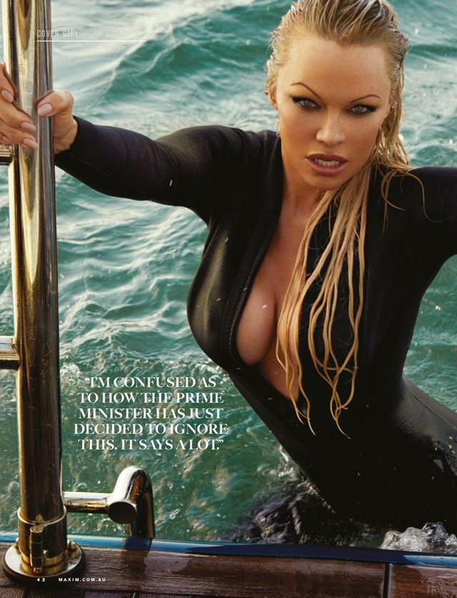 Bom sex Pamela Anderson ly hôn chồng sau 12 ngày làm lễ cưới - Ảnh 1.