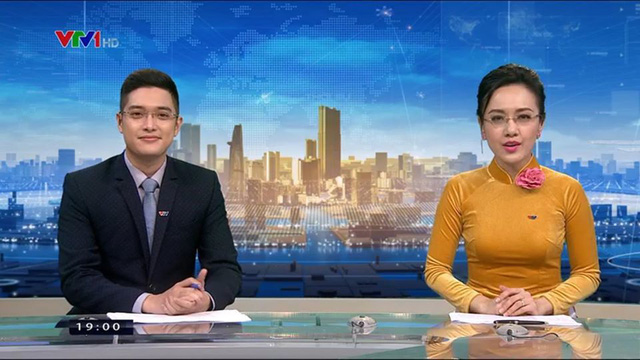 Bật mí về soái ca trẻ nhất bản tin Thời sự 19h VTV - Ảnh 1.