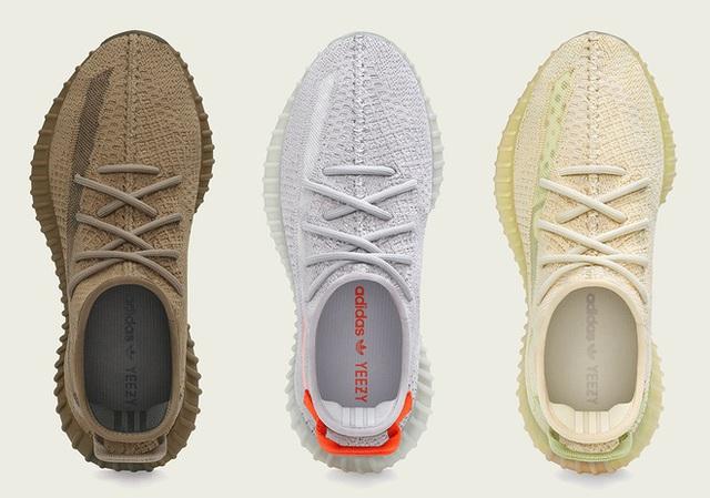 3 mẫu giày Yeezy mới ra mắt vào thứ bảy, dân tình chê phối màu xấu - Ảnh 1.
