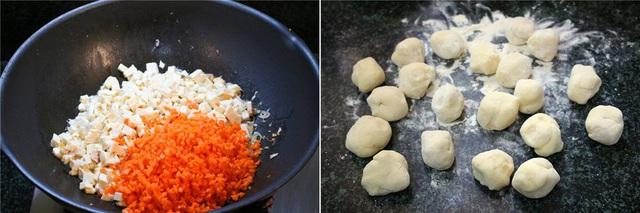 Người Trung Quốc có cách làm bánh rán mặn ngon thần sầu, học ngay công thức thôi! - Ảnh 3.