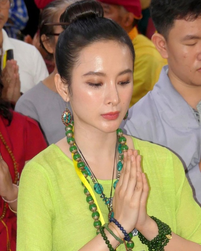 Angela Phương Trinh - sao nhí một thời phát nguyện ăn chay trọn đời - Ảnh 4.