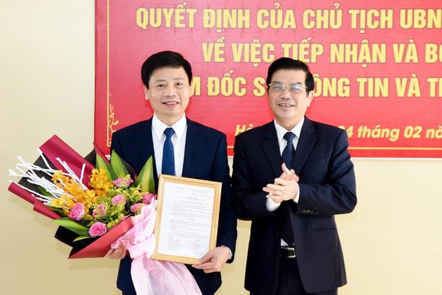 Bổ nhiệm Giám đốc Sở Thông tin và Truyền thông tỉnh Hà Tĩnh - Ảnh 1.