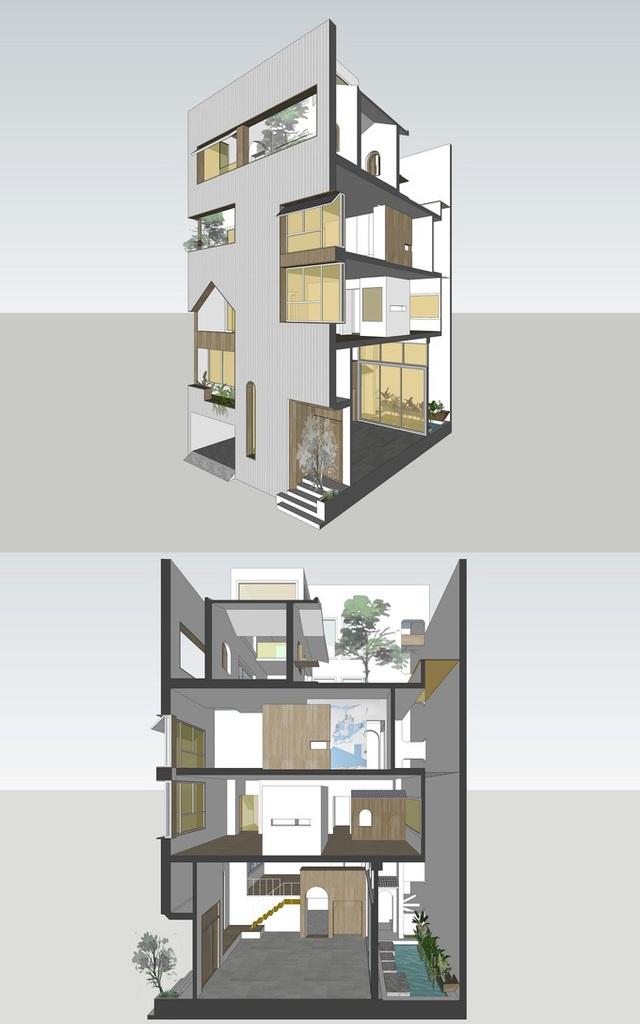 Căn nhà chứa cả một con phố ở Nam Định - Ảnh 4.