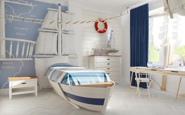 Phòng ngủ sáng tạo khiến cả bé và bố mẹ đều mê - Ảnh 3.