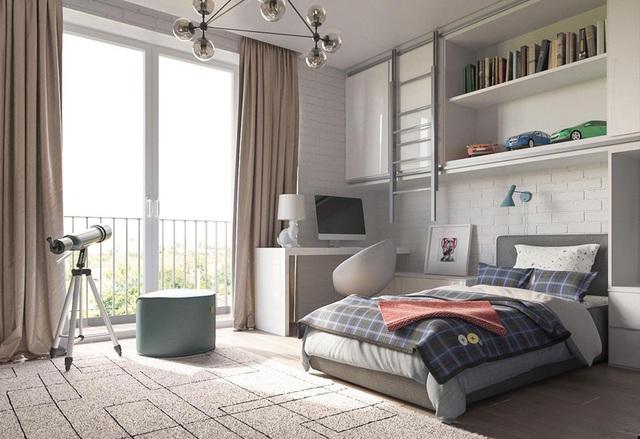 Phòng ngủ sáng tạo khiến cả bé và bố mẹ đều mê - Ảnh 4.