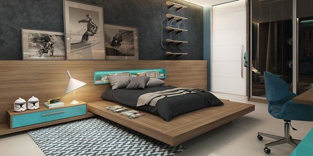 Phòng ngủ sáng tạo khiến cả bé và bố mẹ đều mê - Ảnh 5.