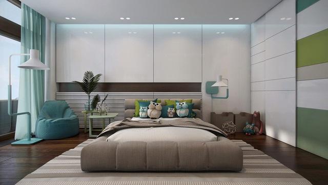Phòng ngủ sáng tạo khiến cả bé và bố mẹ đều mê - Ảnh 6.