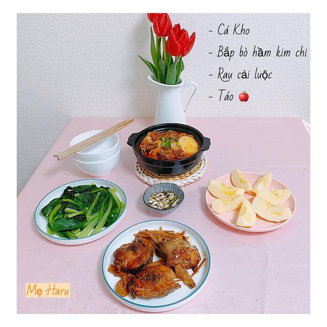 Ngồi suốt trong nhà để tránh dịch, mẹ đảm ở Nhật vẫn có bữa ăn cơm ngon cho chồng khiến chị em xuýt xoa thán phục - Ảnh 11.