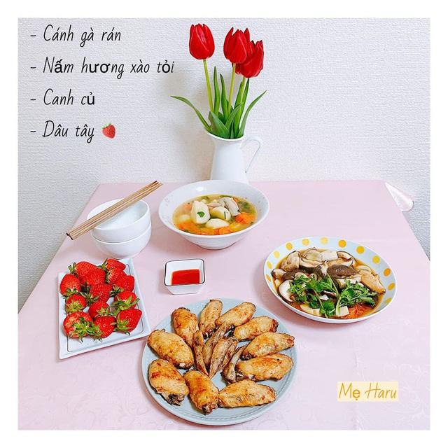 Ngồi suốt trong nhà để tránh dịch, mẹ đảm ở Nhật vẫn có bữa ăn cơm ngon cho chồng khiến chị em xuýt xoa thán phục - Ảnh 12.