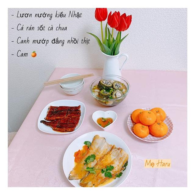 Ngồi suốt trong nhà để tránh dịch, mẹ đảm ở Nhật vẫn có bữa ăn cơm ngon cho chồng khiến chị em xuýt xoa thán phục - Ảnh 13.