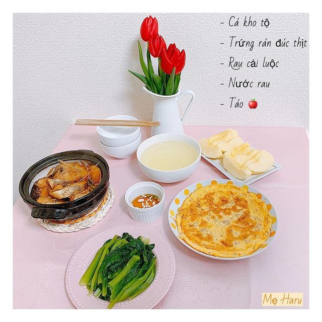 Ngồi suốt trong nhà để tránh dịch, mẹ đảm ở Nhật vẫn có bữa ăn cơm ngon cho chồng khiến chị em xuýt xoa thán phục - Ảnh 14.