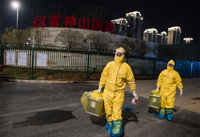 Hình ảnh những người chuyên gom mẫu bệnh phẩm Covid-19 ở Vũ Hán - Ảnh 12.