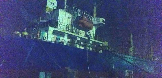 Hải Phòng: Cháy tàu ở công ty Đóng tàu Phà Rừng - Ảnh 2.