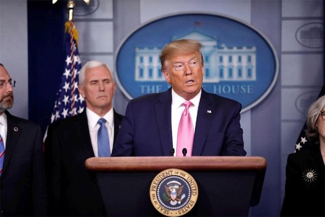 Ông Trump chỉ định phó tổng thống phụ trách chống dịch - Ảnh 2.