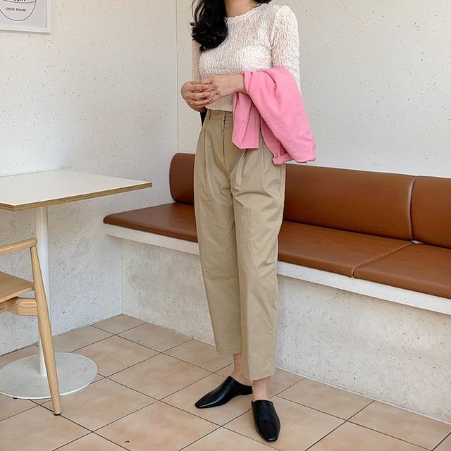 Phát chán khi diện quần jeans, đây là 4 mẫu quần chị em nên tích cực mặc để sành điệu hơn  - Ảnh 13.